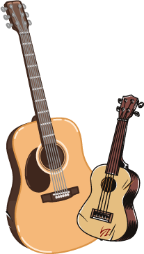Гітара чи укулеле?